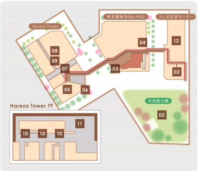 Hareza池袋アートマップ