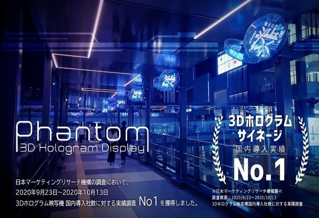 3D Phantom ® 稼動時の画像