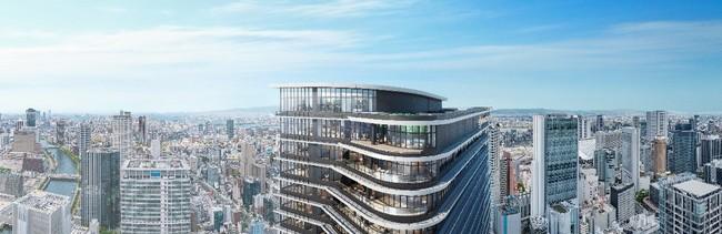 建物上部外観イメージ