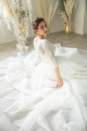 上記 結婚式・披露宴向けボリュームウェディングドレス3泊4日レンタル30,300円(税別)