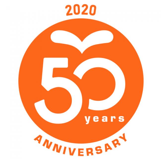 サニパック50周年ロゴ