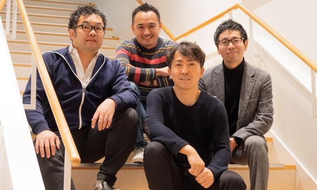 写真前列:小野壮彦 写真後列(左から):GCP高宮慎一、今野穣、仮屋薗聡一