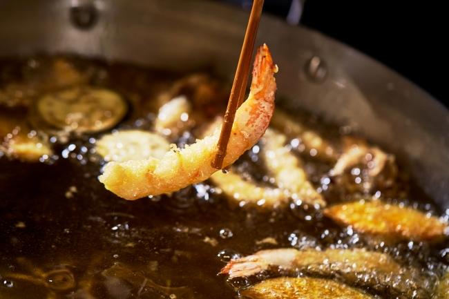 寿司、天ぷらは目の前で調理
