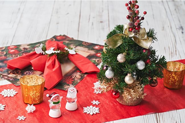 シルバーKITのクリスマスデコレーション