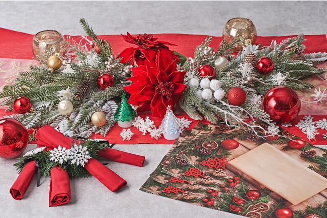 プラチナKITのクリスマスデコレーション