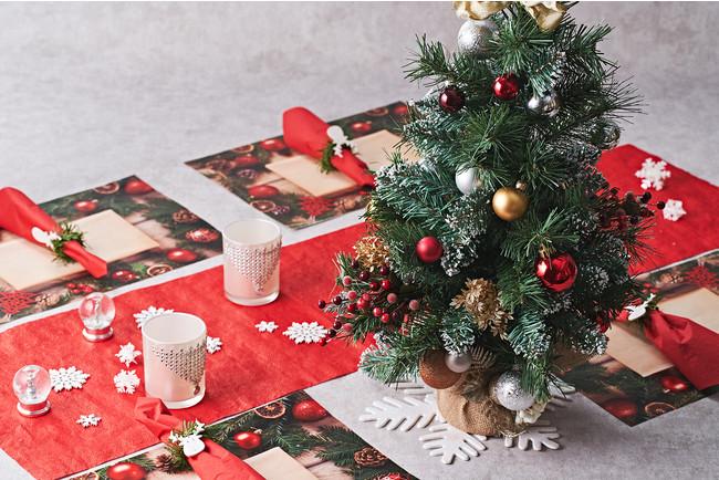 ゴールドKITのクリスマスデコレーション