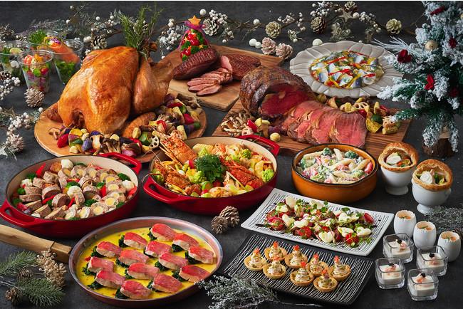 クリスマスウィークのディナー限定でスペシャルメニューをご用意