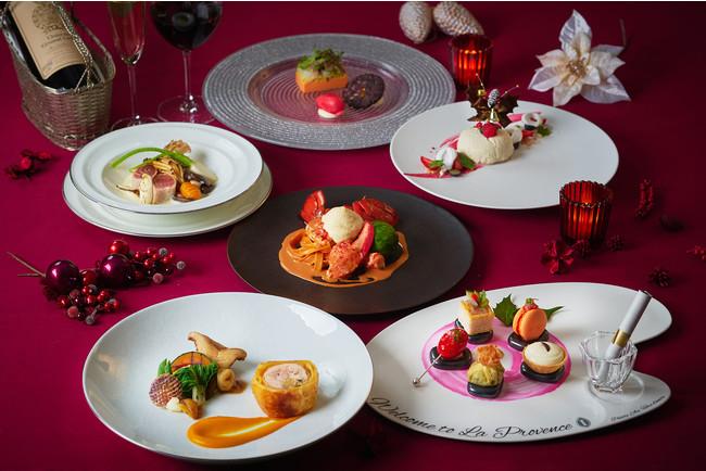 ラ・プロヴァンスではキャビア、オマール海老などの高級食材を使った料理が登場