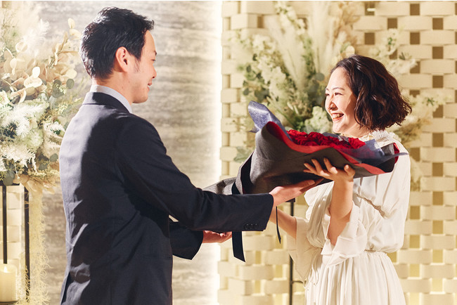 チャペルでのプロポーズ(イメージ)