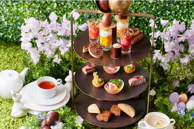 ヴァローナのフレーバーチョコレートを使い 様々な味わいを表現したアフタヌーンティー