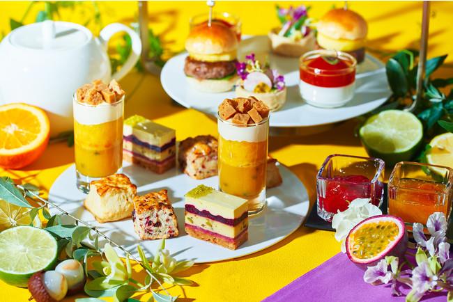 スコーンはフランボワーズとレモン味をラインナップ フルーツを使った2種のジャムを添えて