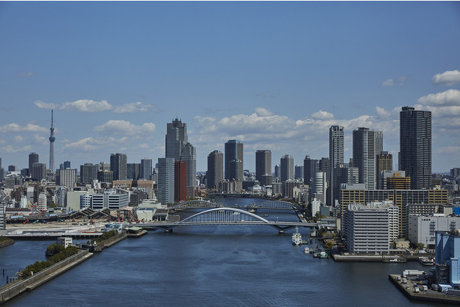 隅田川の風景 (リバービュー)イメージ