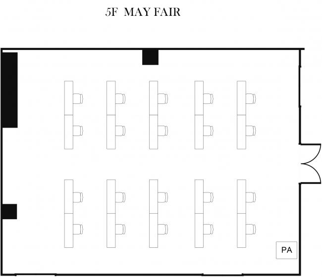 「メイフェア」スクール形式会議イメージ