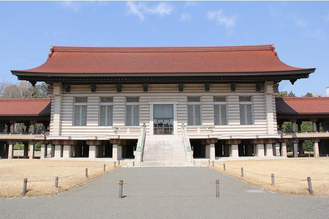 明治神宮宝物殿中倉の外観