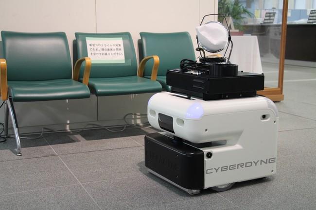 除菌作業ロボット CL02