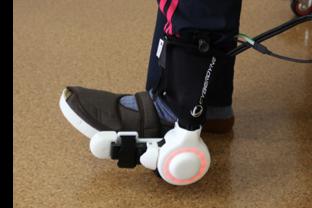 足関節の曲げ伸ばし練習