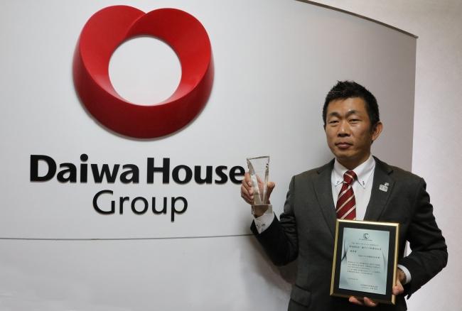 <最優秀賞> 大和ハウス工業株式会社 本社生産部 上席主任 山田 高之様