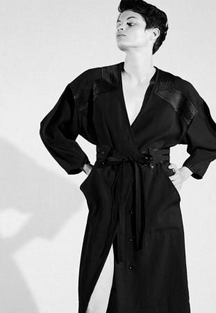 Black gown dress 49,000yen(+tax)