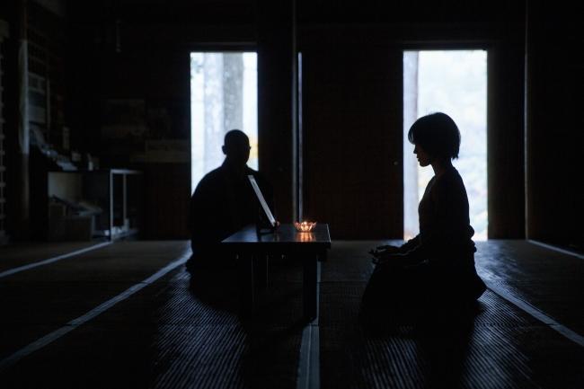 国宝・明通寺本堂での瞑想