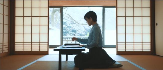 国宝・明通寺での写経体験