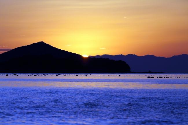 日本夕陽100選に選ばれる英虞湾