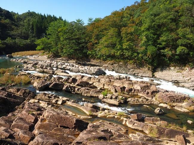 宮崎県美郷町舟方轟(ふなかたとどろ)の風景
