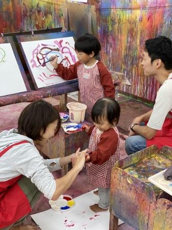 家族で楽しむアート遊び