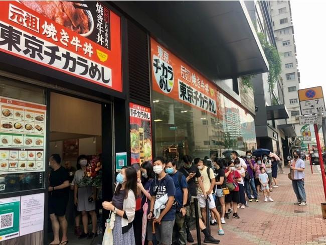 香港1号店の様子1