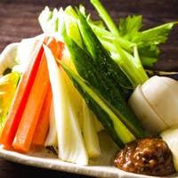 人気の【生野菜盛り】