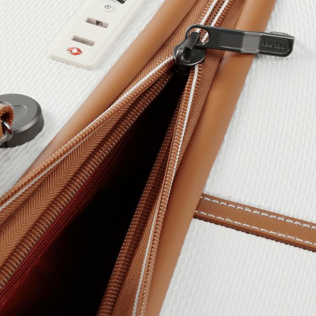 DELSEYのUS特許技術Zip SECURITECH(R) ジッパーファスナー