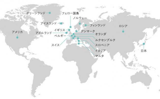 ▲「スキル」を販売している国は、 今回上陸する日本を含め18ヵ国