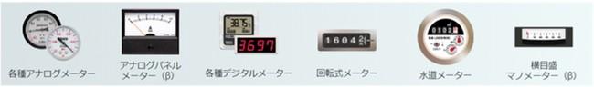 ▲「hakaru.ai byGMO」の読み取り対応メーター ※2021年7月現在