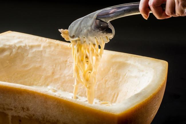パルミジャーノのキノコクリームスパゲティー