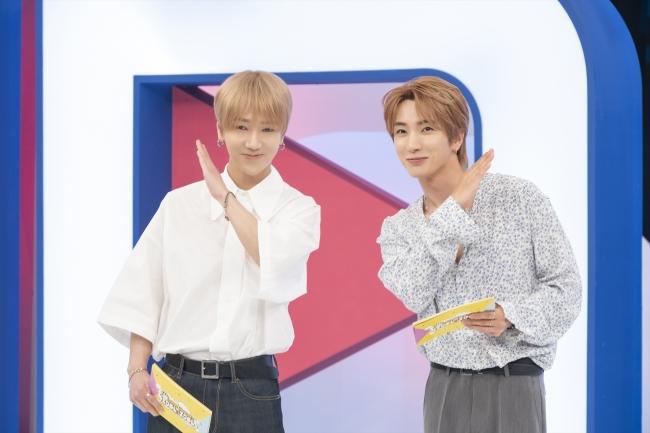 『SUPER JUNIORのアイドルVSアイドル』イトゥク&イェソン