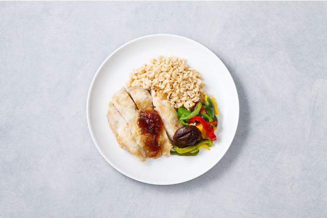 ダイズライスを使用した低糖質・高タンパク質のGOFOODのお弁当
