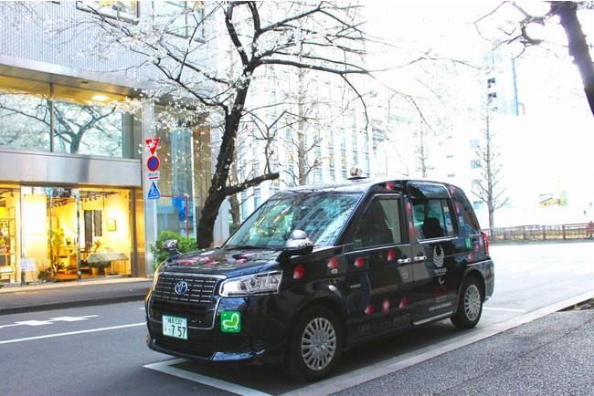 お花見タクシー(イメージ)