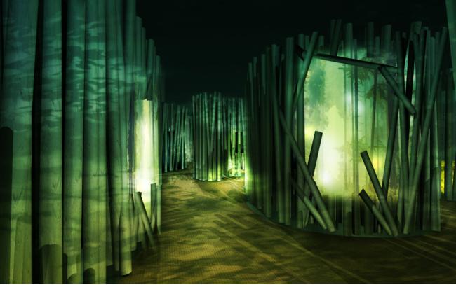 森林ゾーン(昼)