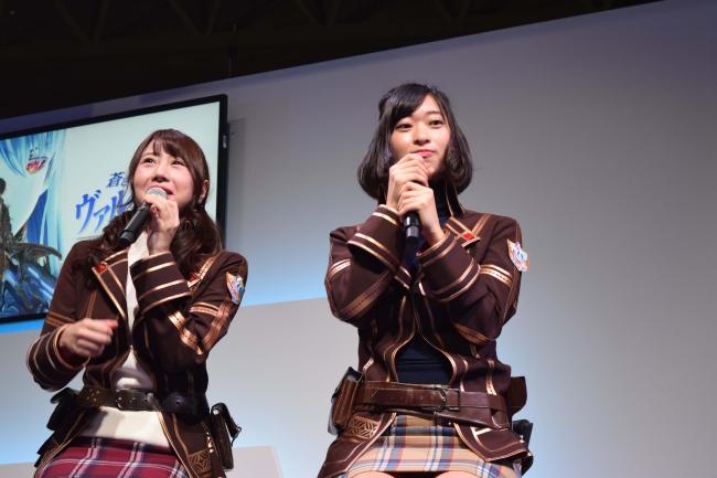 吉田早希さん(左),倉持由香さん