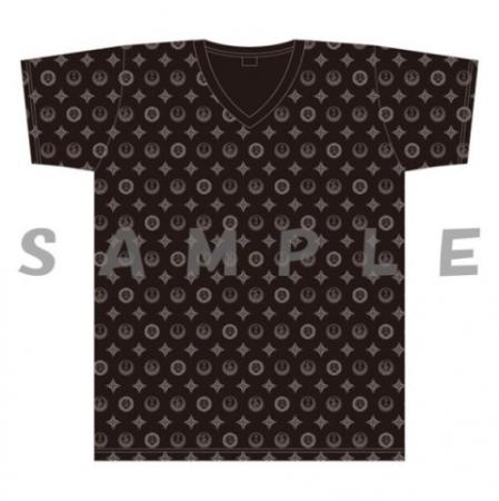 代紋モノグラムTシャツ ブラック(MLXL) 3,000円