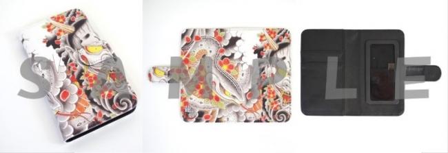 真島のマジスマホケース(手帳型)(M3,000円 L3,200円)