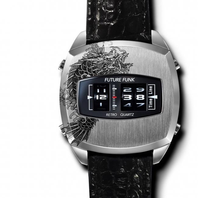 ローラー式腕時計