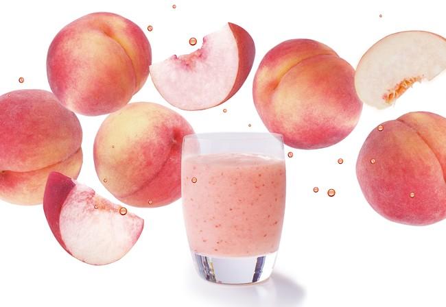 『とろける桃のスムージー』イメージ