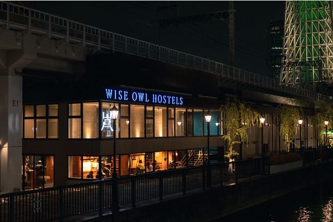 東京ミズマチE01に位置する水辺のホステル