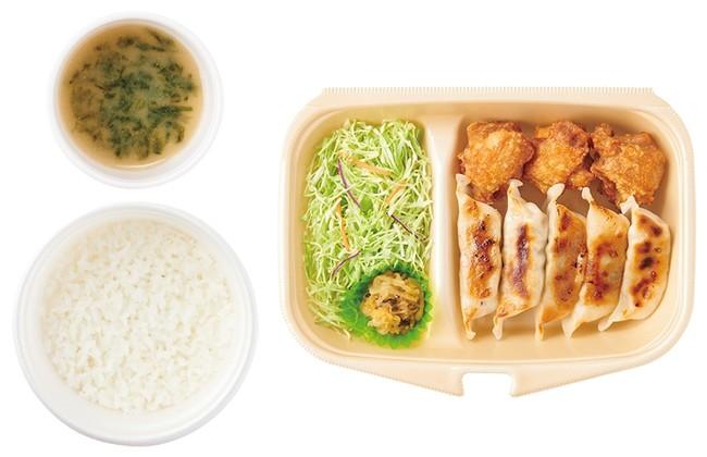 [テイクアウト]餃子とから揚げ 860円(税込)