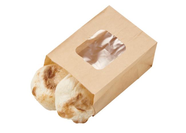 焼きたてもっちりパン2ヶ 140円(税込)