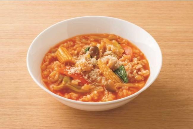 トマトチーズリゾット(調理例)