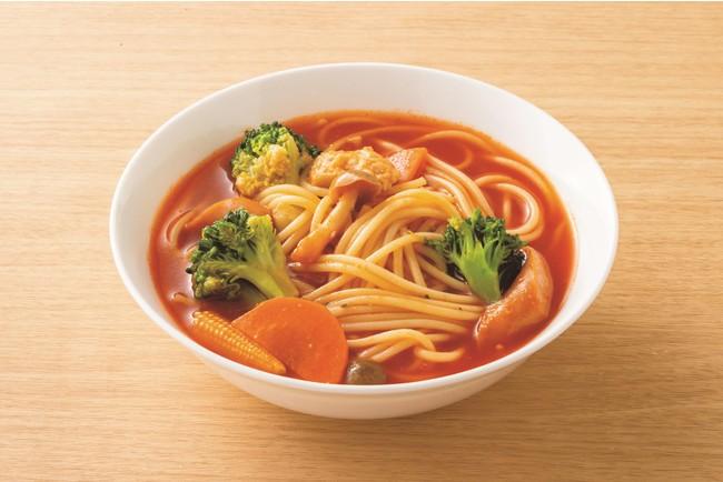 トマトスープスパゲティ(調理例)