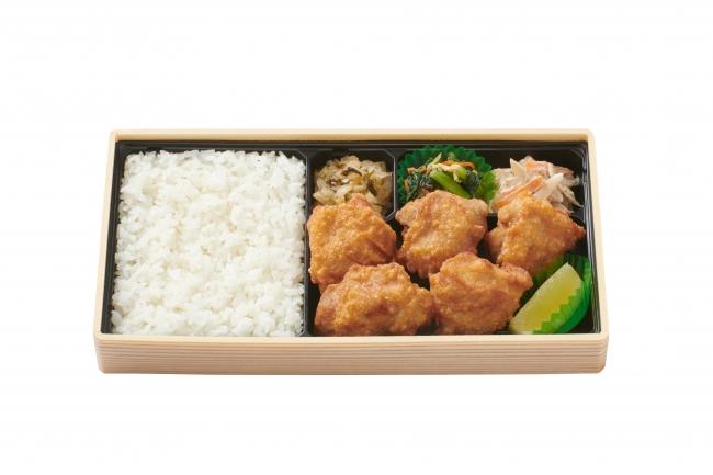 から揚げ弁当660円(税込)