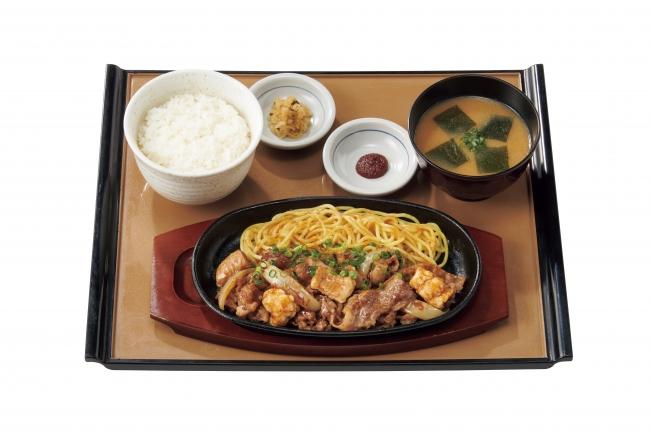 『牛カルビ&ホルモン焼定食』890円(税込)
