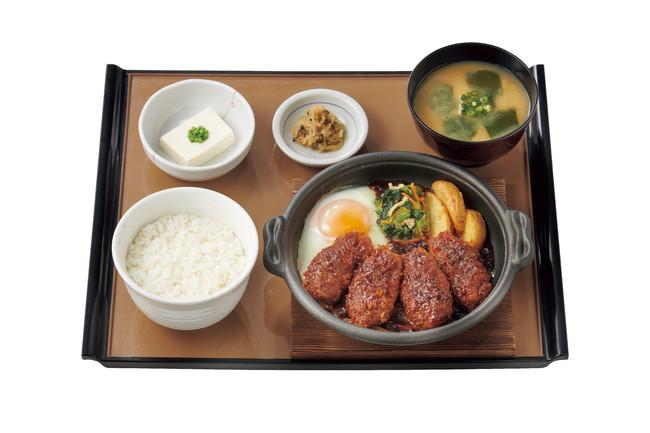 かきフライの味噌煮定食 890円(税込)